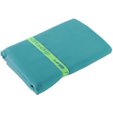 Handuk microfibre L biru