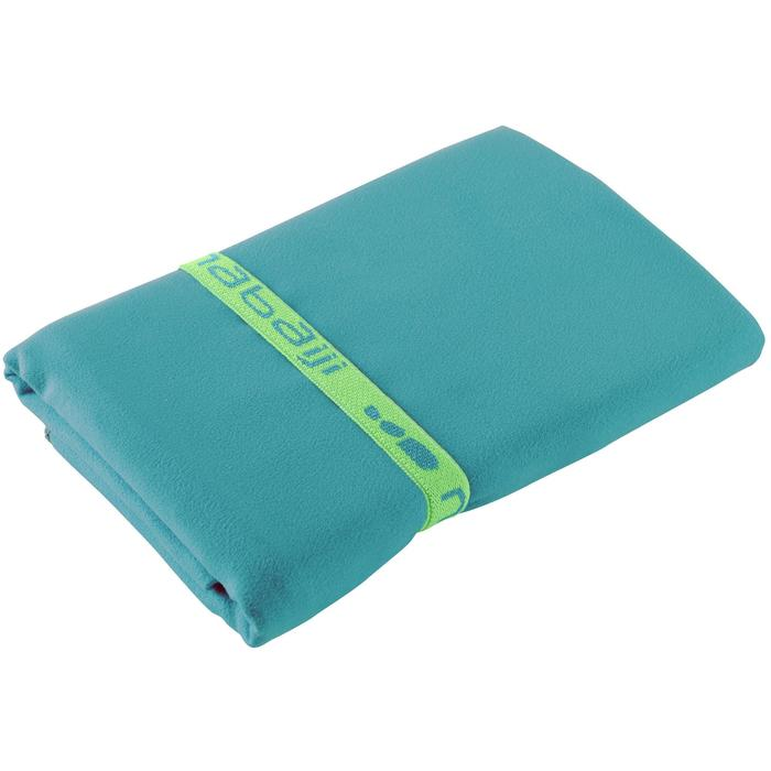 Serviette microfibre bleu cina ultra compacte taille L 80 x 130 cm - 1354111