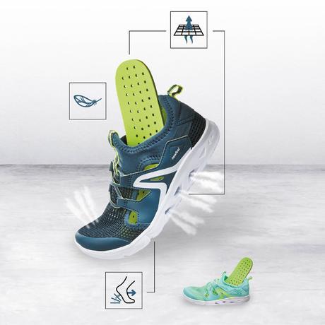 Gris 500 Vert Enfant Chaussures Pw Marche Newfeel Fresh TtwX77q1xS