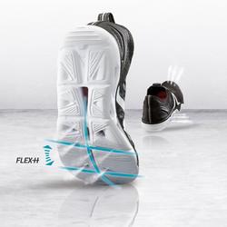 Freizeitschuhe Walking PW 500 Fresh Damen schwarz/weiß