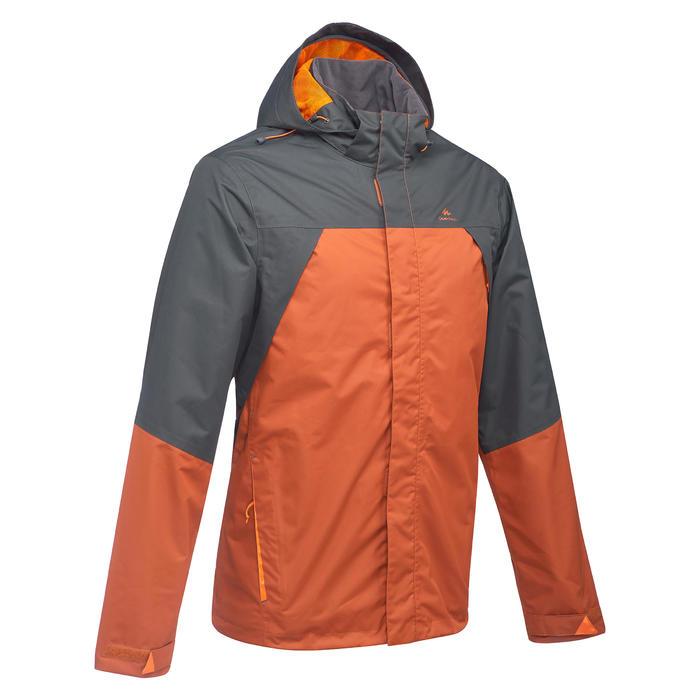 Veste pluie randonnée montagne  MH100 imperméable homme - 1354135