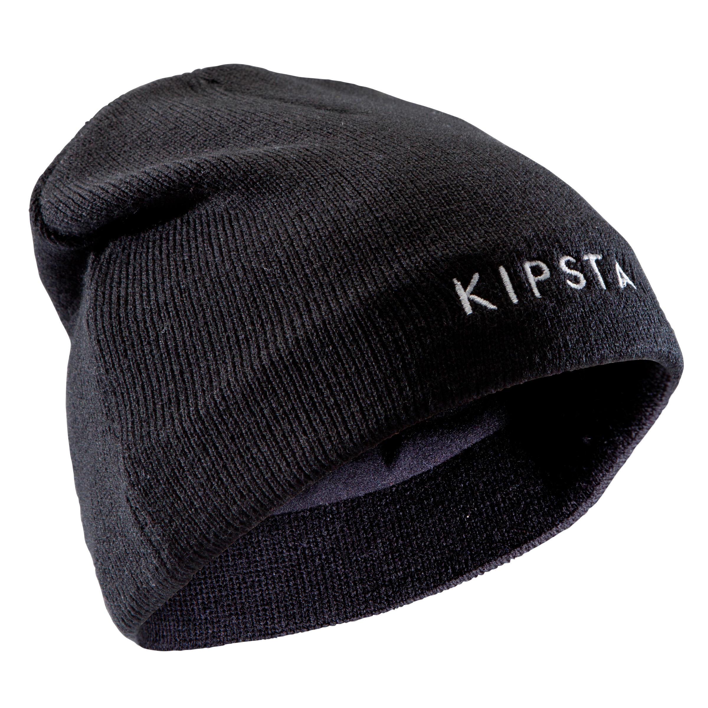 Bonnet enfant Keepwarm intérieur molleton noir