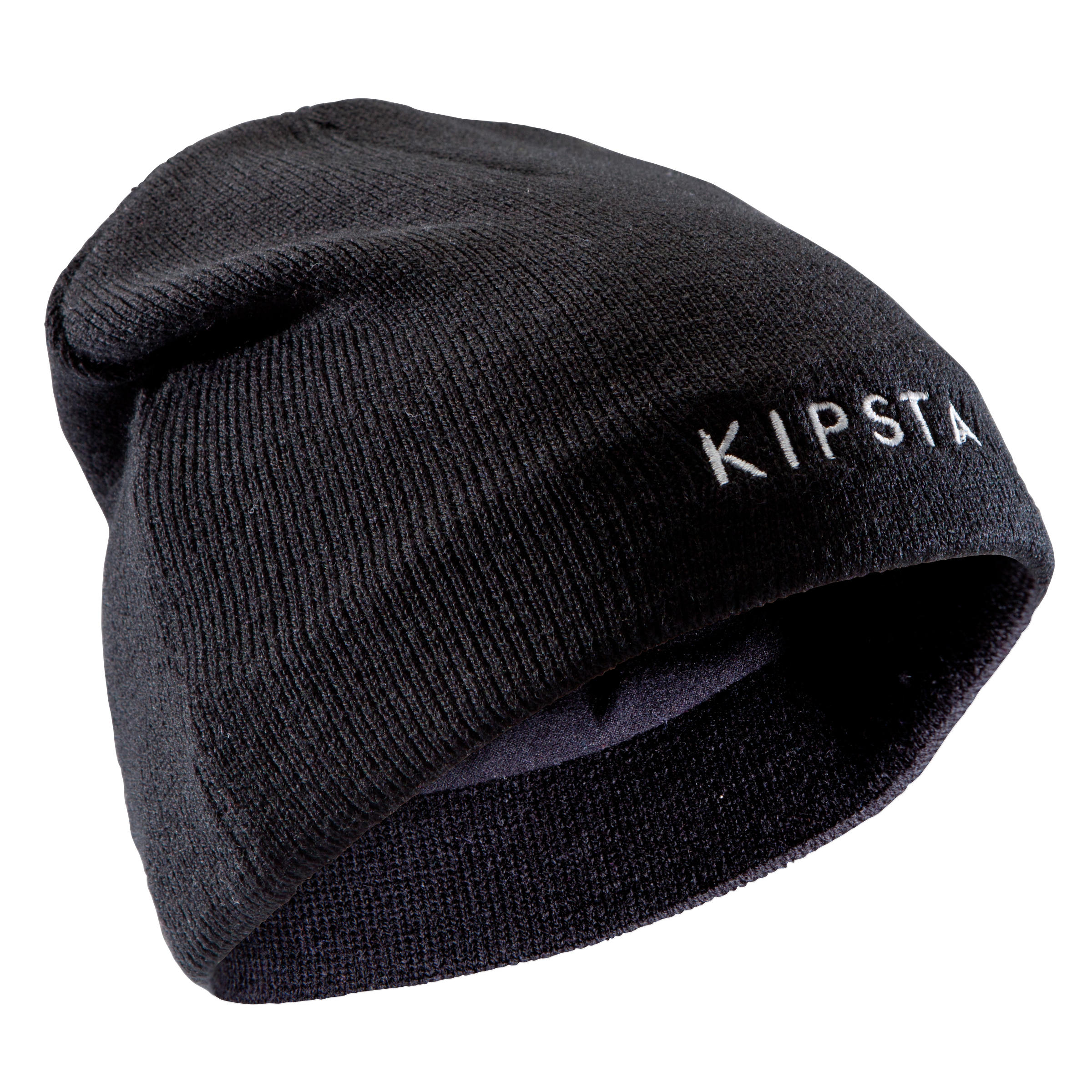 Keepwarm Kids' Fleece-Lined Hat - Black