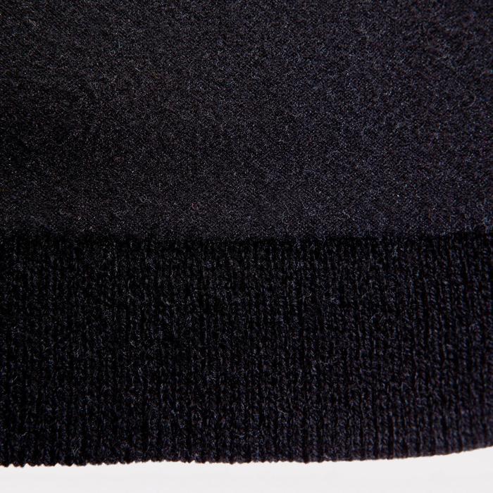 Muts voor kinderen Keepwarm zwart met fleecevoering