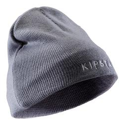 Gorro Kipsta Keepwarm 100 Interior Fibra Polar Niño Gris