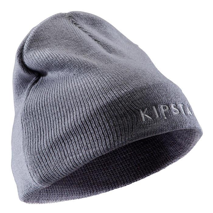Gorro niños Keepwarm gris interior de fibra polar