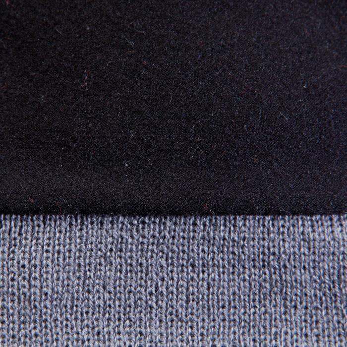Muts voor kinderen Keepwarm grijs met fleecevoering