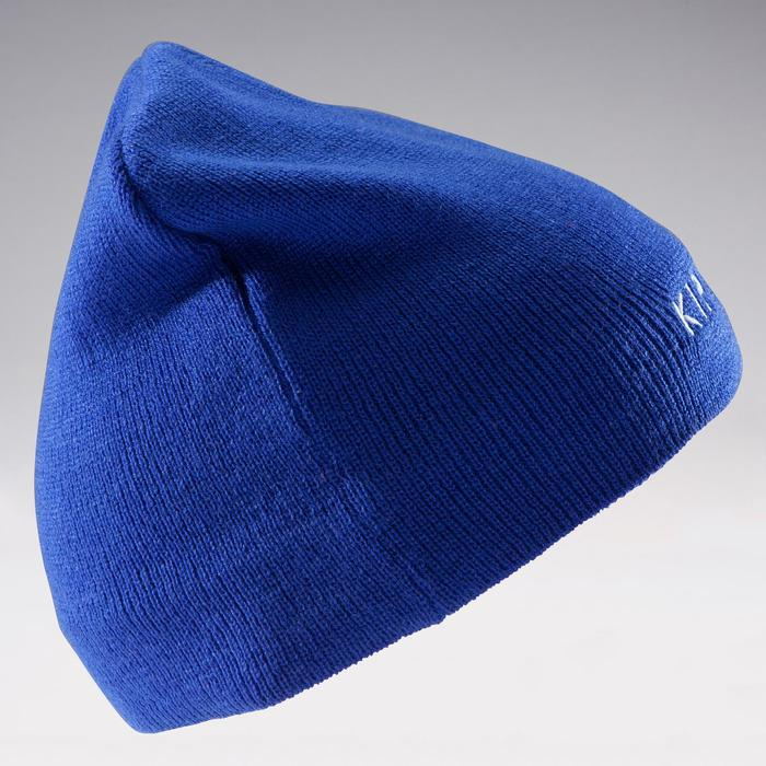 Gorro niños Keepwarm azul intenso interior de fibra polar