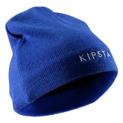 Gorro Kipsta Keepwarm 100 Interior Fibra Polar Niño Azul Eléctrico