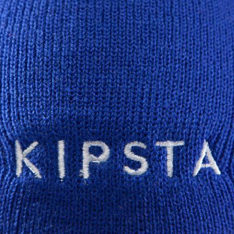 Bonnet enfant Keepwarm bleu vif intérieur polaire   Kipsta by Decathlon fca6d87301e