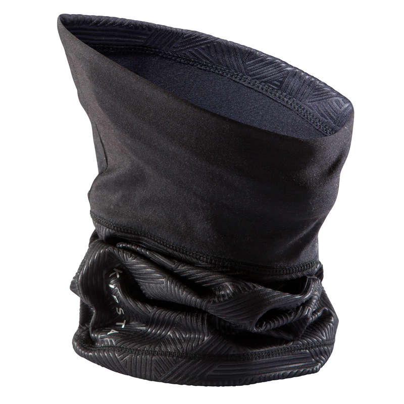 UNDERWEAR TEAM SPORT SENIOR Football - Neck Warmer Keepdry 500 Black KIPSTA - Football Clothing