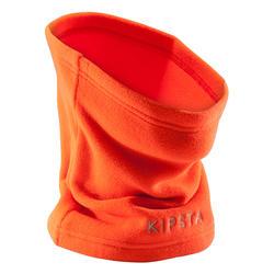 Braga Cuello Kipsta Keepwarm 100 niños naranja fluorescente