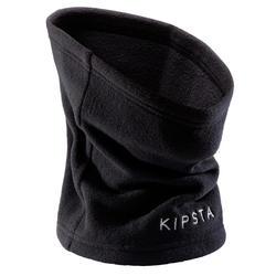 Nekwarmer voor voetbal Keepwarm 100 zwart