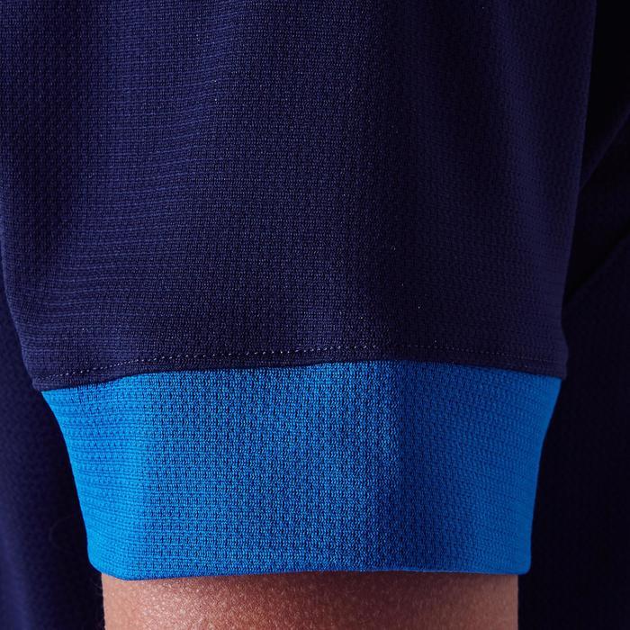 Camiseta de fútbol mujer F500 azul marino