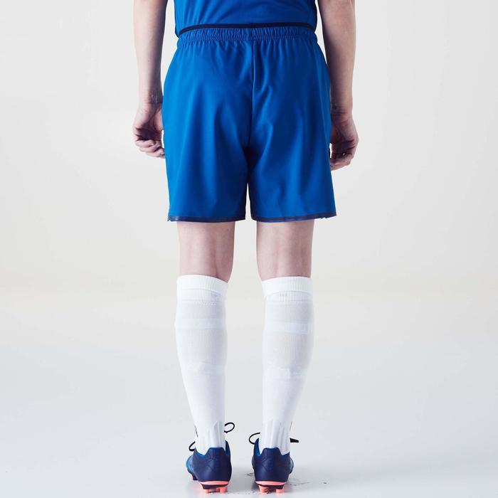 Short de football femme F500 gris menthe - 1354233