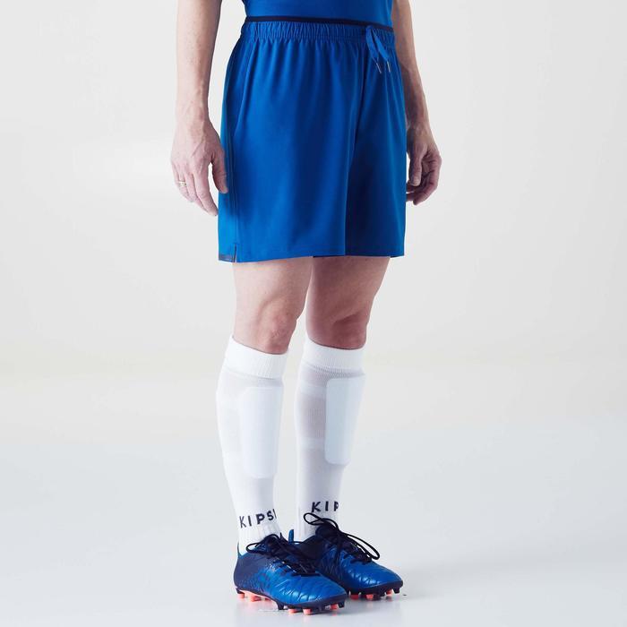 Short de football femme F500 gris menthe - 1354235