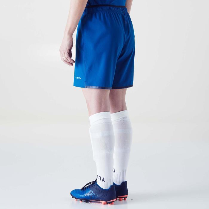 Short de football femme F500 gris menthe - 1354236