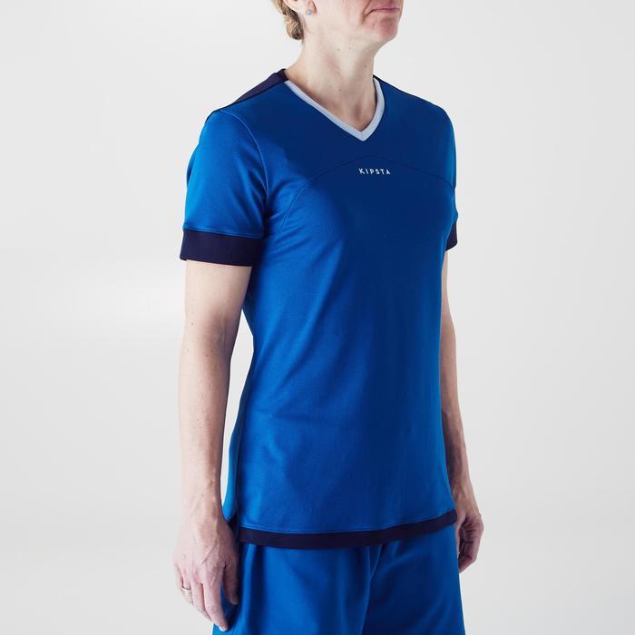 Camiseta de fútbol mujer F500 azul