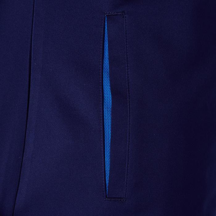 Veste d'entraînement de football femme T500 grise menthe - 1354258