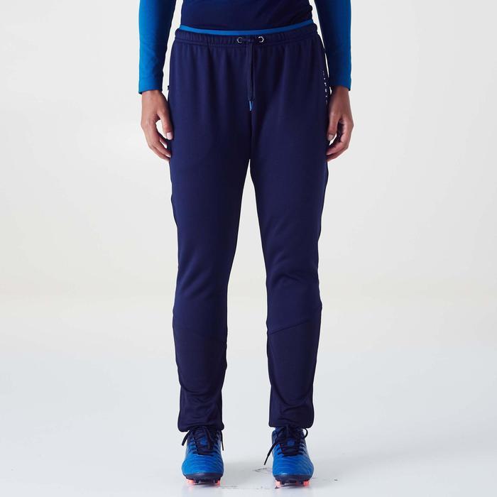 Trainingshose Fußball TP500 Damen blau