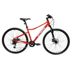 Riverside 500 混合式自行車- 灰色/紅色
