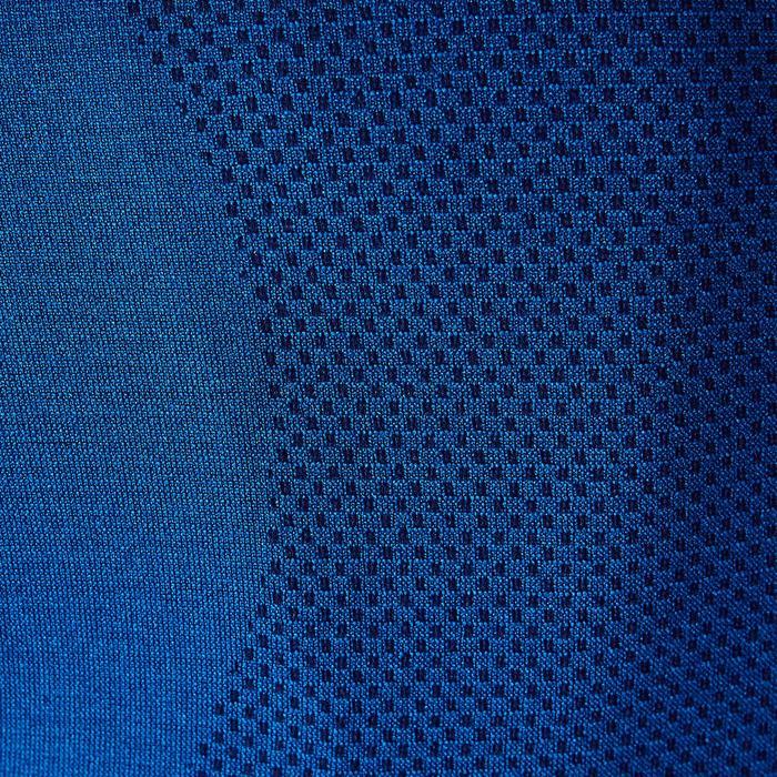 Funktionsshirt langarm Keepdry 500 atmungsaktiv Damen petrolblau