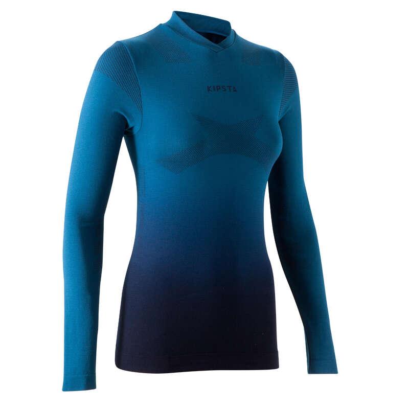 ÎMBRĂCĂMINTE FOTBAL FEMEIE Imbracaminte - Bluză Keepdry 500 Damă  KIPSTA - Sporturi