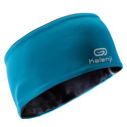 Reversible Children's Track & Field Winter Headband - Blue/Black