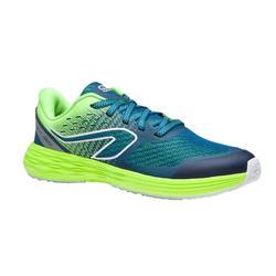 Chaussures Athlétisme Enfant Kiprun Rose Turquoise