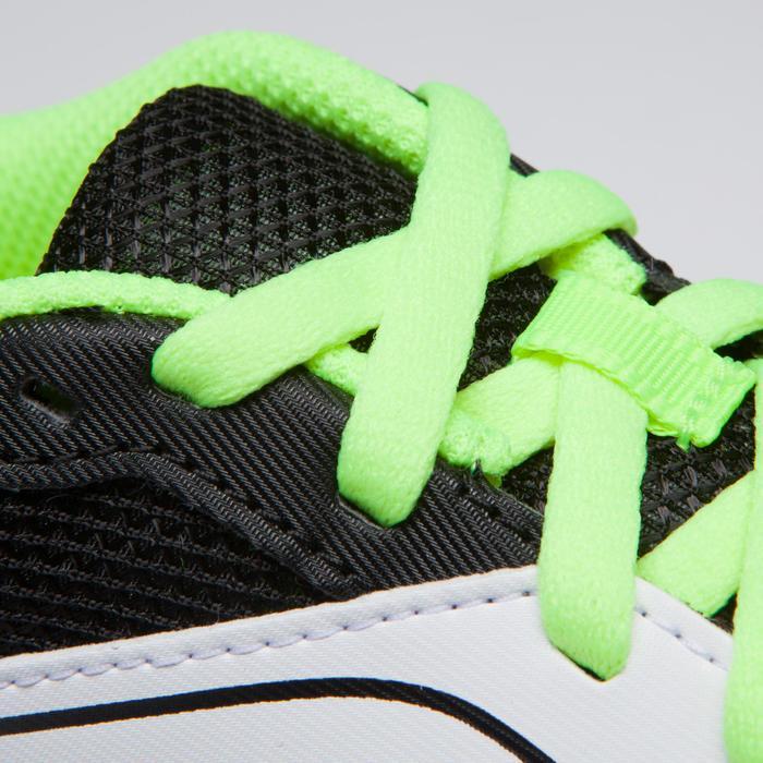 Veelzijdige atletiekschoenen met spikes voor kinderen en volwassenen wit geel