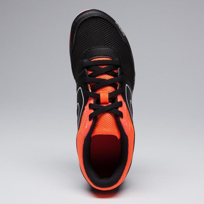 Veelzijdige atletiekschoenen met spikes voor kinderen en volwassenen zwart rood