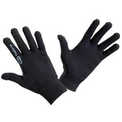 兒童款無縫運動手套-黑色