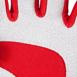 Rugby handschoenen zonder vingers Full H zwart/rood - 135457