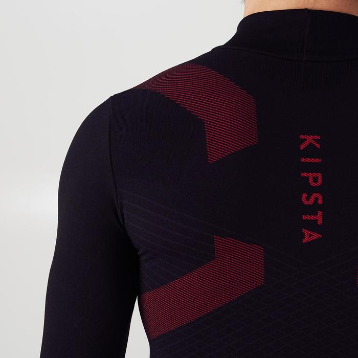 Keepdry 900 Adult Warm Breathable Long-Sleeved Base Layer - Black/Red