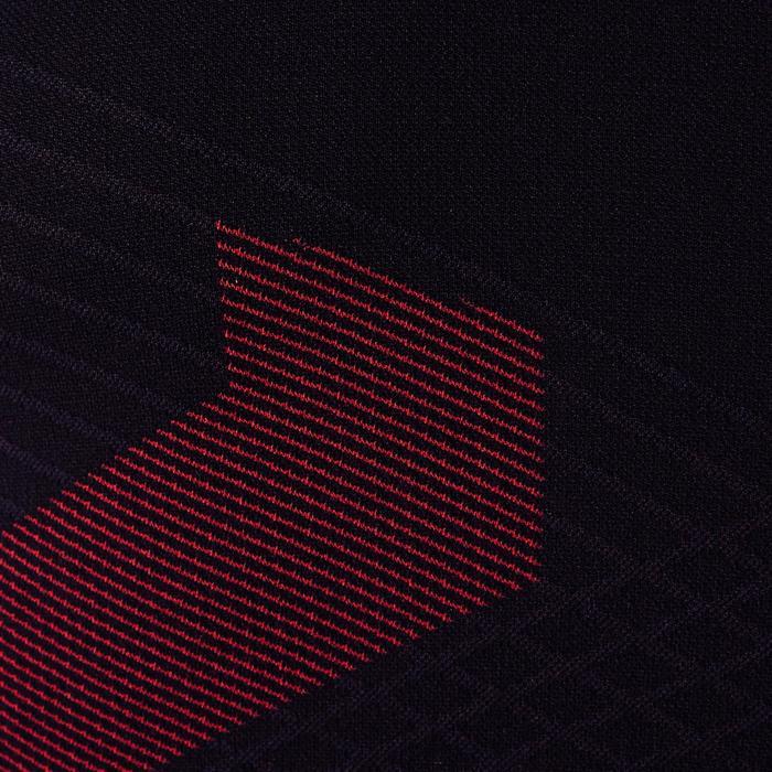 Funktionsshirt Keepdry 900 atmungsaktiv Erwachsene schwarz/rot