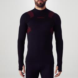 Ondershirt voor volwassenen Keepdry 900 zwart rood