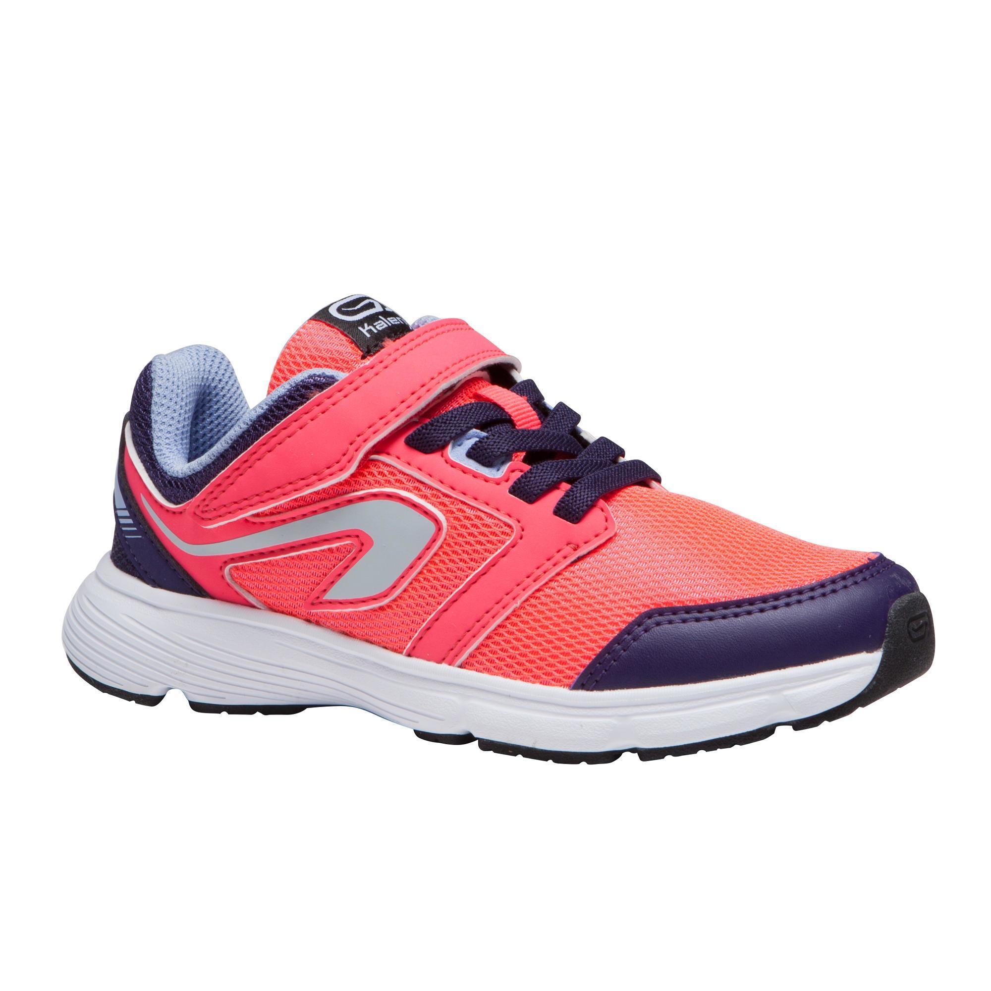 Kalenji Hardloopschoenen voor kinderen Run Support klittenband