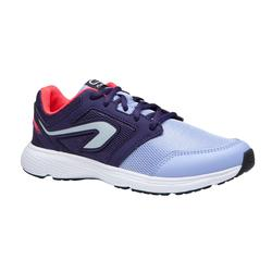 Run Support Laces Children's Athletics Shoes - Purple Indigo Pink