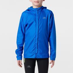Windjacke Leichtathletik Club personalisierbar Kinder blau