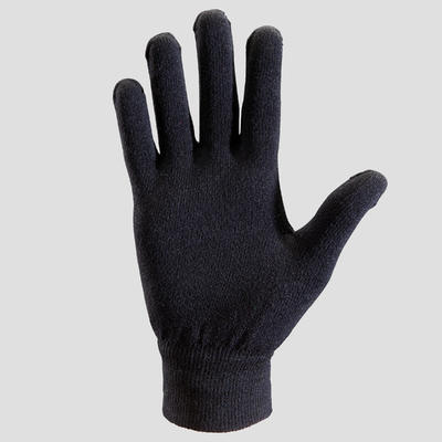 kid's athletics seamless gloves black