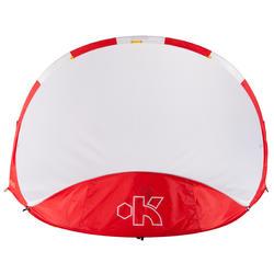 Voetbaldoeltje pop-up The Kage XL rood/wit - 135477