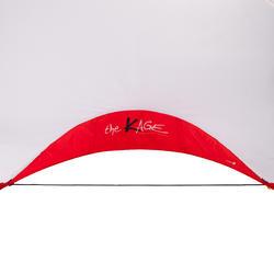 Voetbaldoeltje pop-up The Kage XL rood/wit - 135478