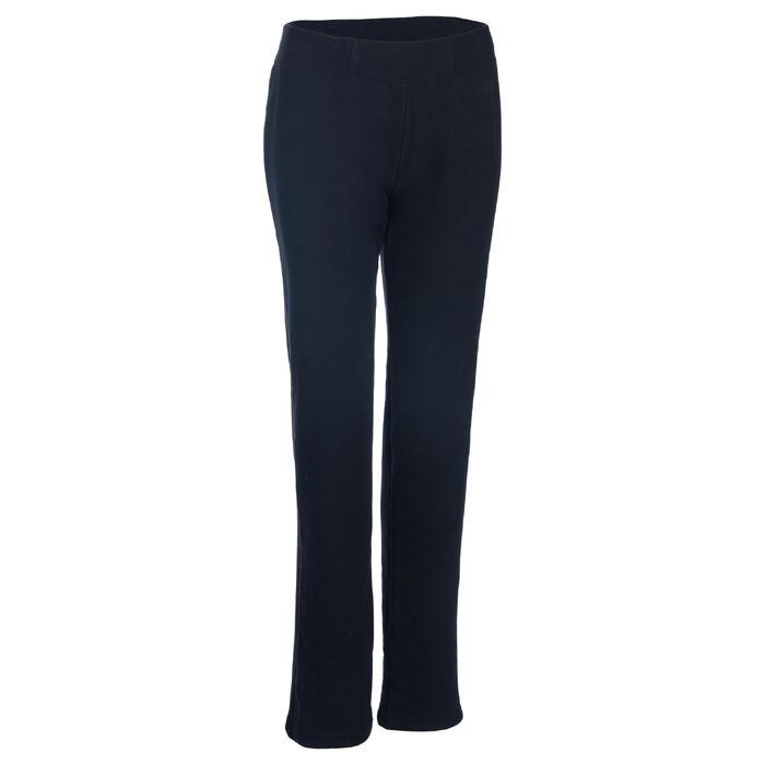 Pantalon 120 Gym & Pilates femme gris chiné - 1354781