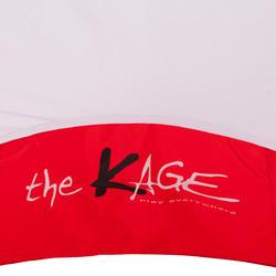 Voetbaldoeltje pop-up The Kage XL rood/wit - 135480