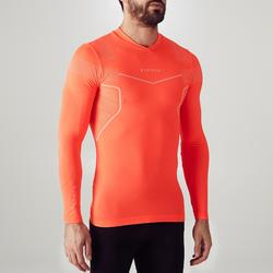 Funktionsshirt langarm Keepdry 500 Erwachsene neon-orange