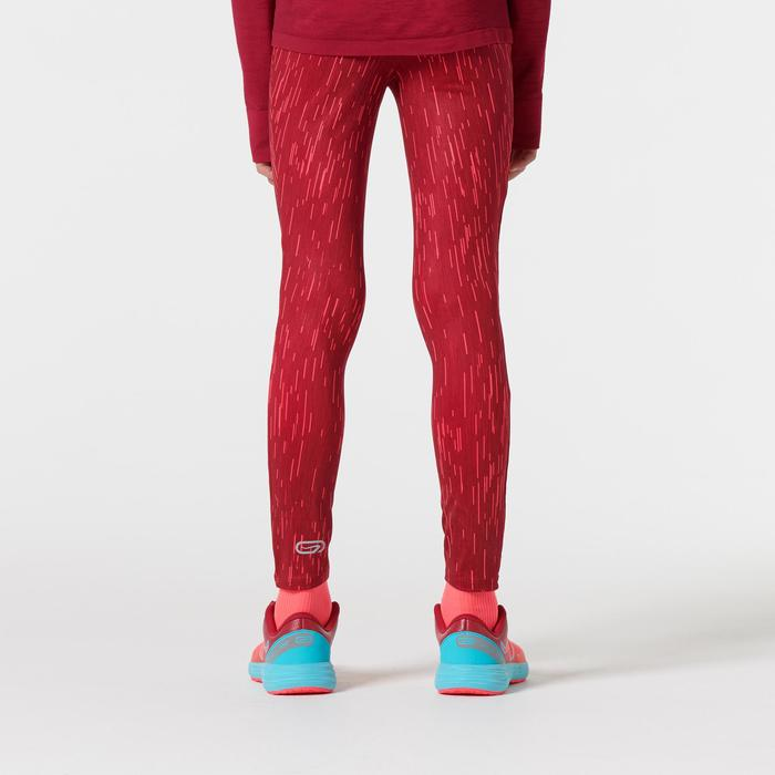 mallas largas atletismo niño run dry estampado rosa