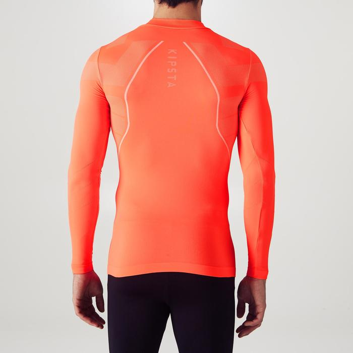 Funktionsshirt langarm Keepdry 500 Erwachsene neon-orange