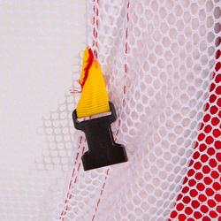 Voetbaldoeltje pop-up The Kage XL rood/wit - 135484