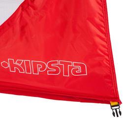 Voetbaldoeltje pop-up The Kage XL rood/wit - 135486
