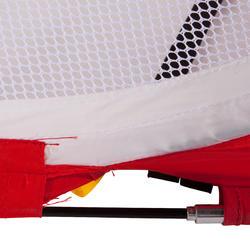 Voetbaldoeltje pop-up The Kage XL rood/wit - 135487